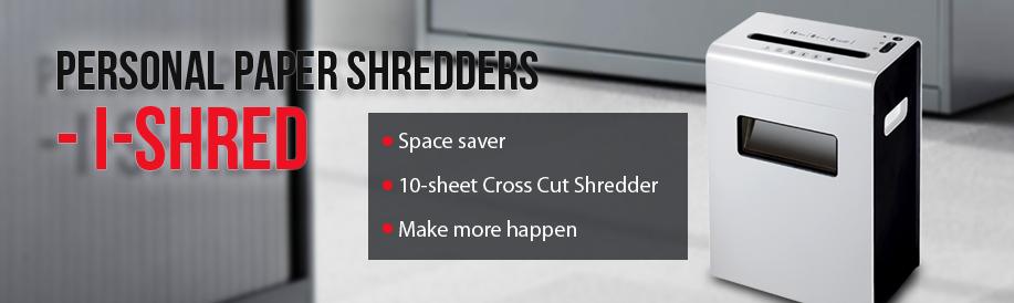 Personnel Paper Shredder i-Shred